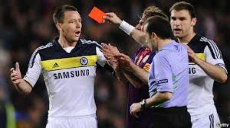 Ajukan Banding Chelsea Terkait Kartu Merah Terry Ditolak