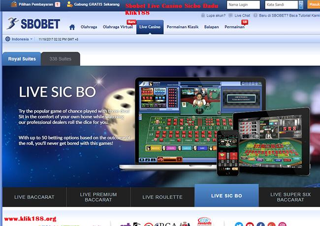cara login id casino online