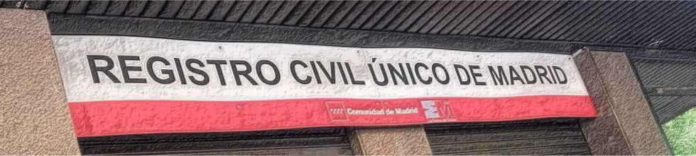 Registro Civil Único Madrid