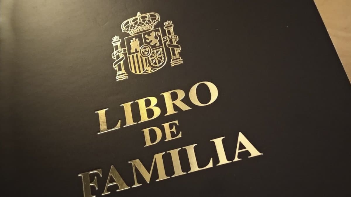 Libro de Familia registro electrónico