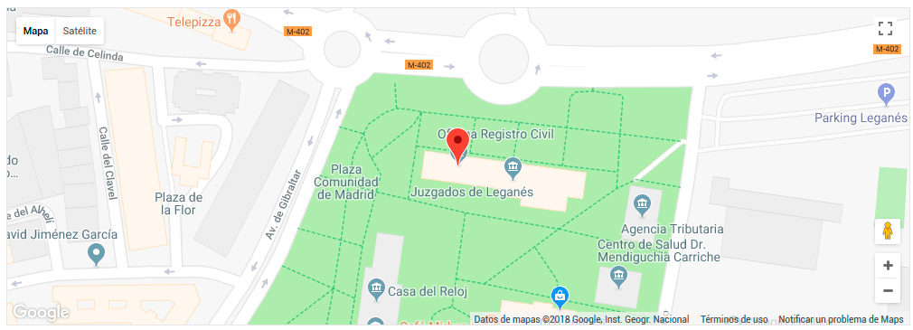 Registro Civil de Leganés, Madrid - Obtención de certificados ...