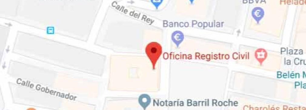 mapa registro san lorenzo escorial