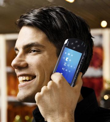 Sony PSP handheld gaming... er... telephone