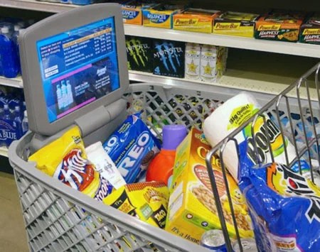 Microsoft Develops Intelligent Shopping Trolley The