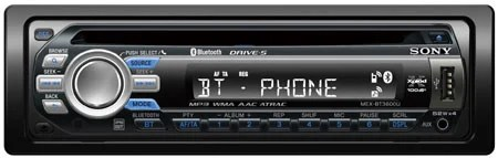 Sony Rocks En Route With Bluetooth Car Stereo The Register