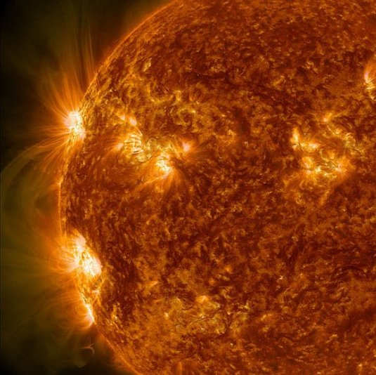 Magnetic fields of sunspots interacting