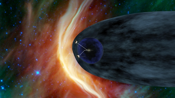 Voyager 1 and 2 in the heliosheath (NASA/JPL-Caltech)