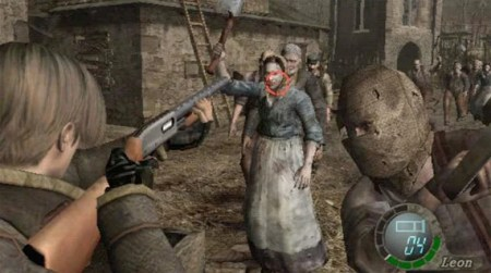 Want to be a better marksman  Play shooting games     The Register Resident Evil 4