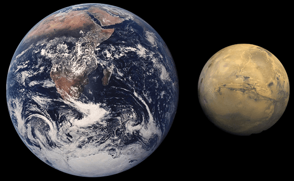 Did Mars once look like Earth?