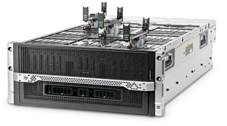 The HP Moonshot Gemini 1500 server chassis
