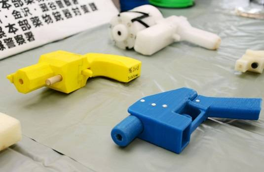 Plastic Japanese gun arsenal