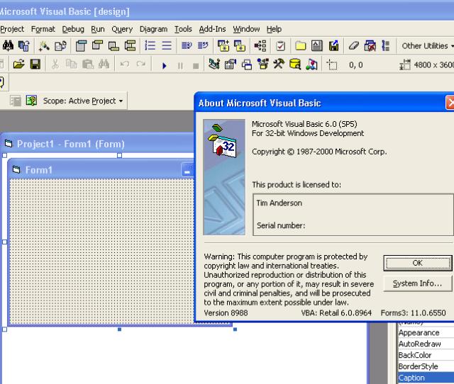 Visual Basic 6 0 The Last Version Before Net