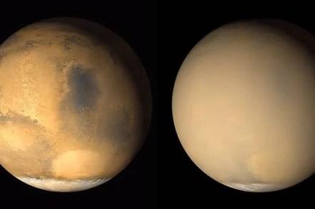 Tempesta di Marte