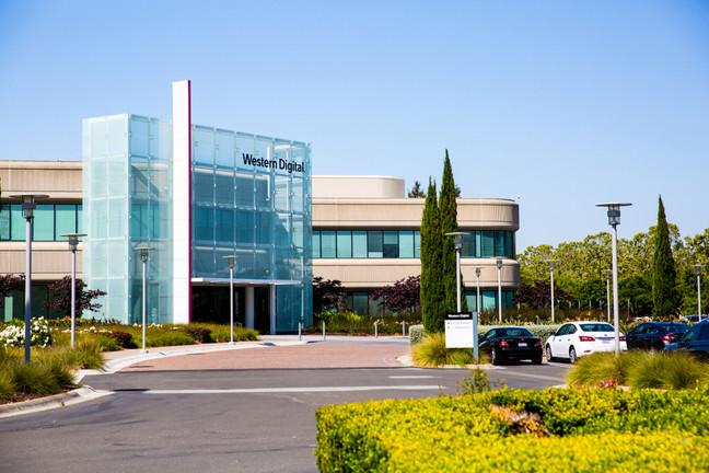 Milpitas, CA, USA: Western Digital Corporation Office Building. By Valeriya  Zankovych/
