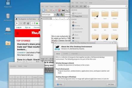 Xubuntu running XFCE 4.14