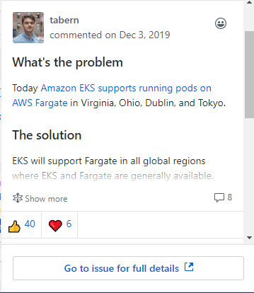 Cloud Computing: Fargate support for the AWS Kubernetes service in all regions? We're working on it says AWS