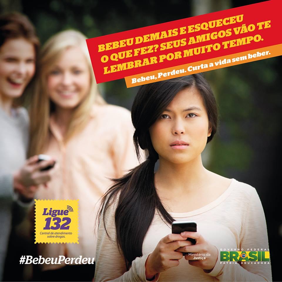 Ministério da Justiça é acusado por internautas de apoiar o bullying contra as mulheres (#BebeuPerdeu)