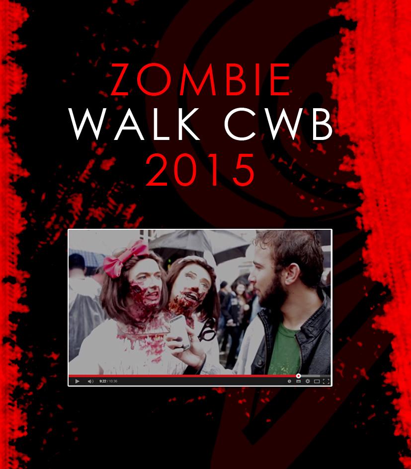Zombie Walk CWB 2015