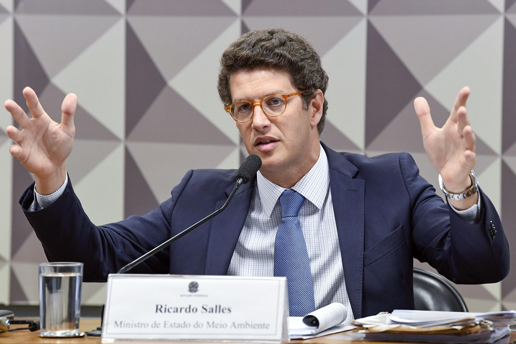STF AUTORIZA INSTAURAÇÃO DE INQUÉRITO CONTRA RICARDO SALLES