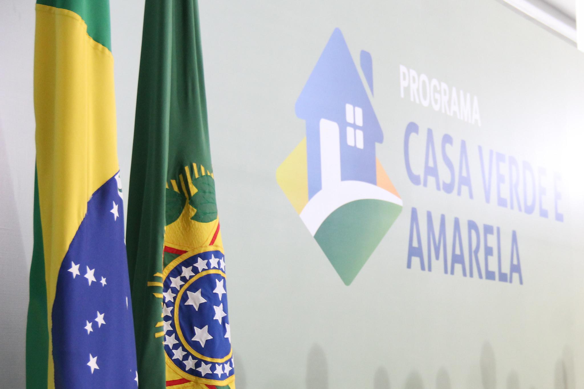 PROGRAMA CASA VERDE E AMARELA É SANCIONADO COM VETO
