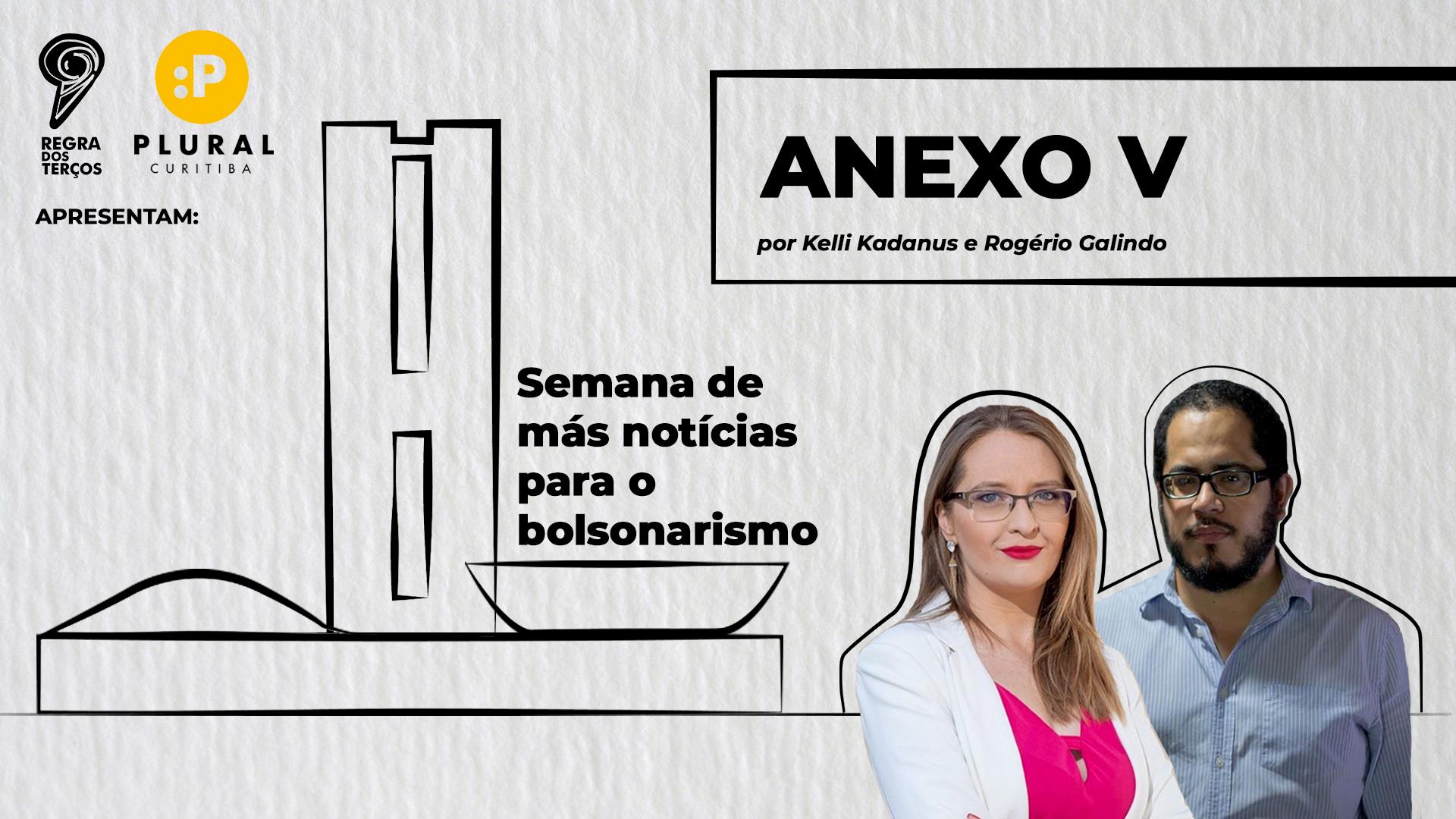 ANEXO V: SEMANA CHEIA DE MÁS NOTÍCIAS PARA O BOLSONARISMO