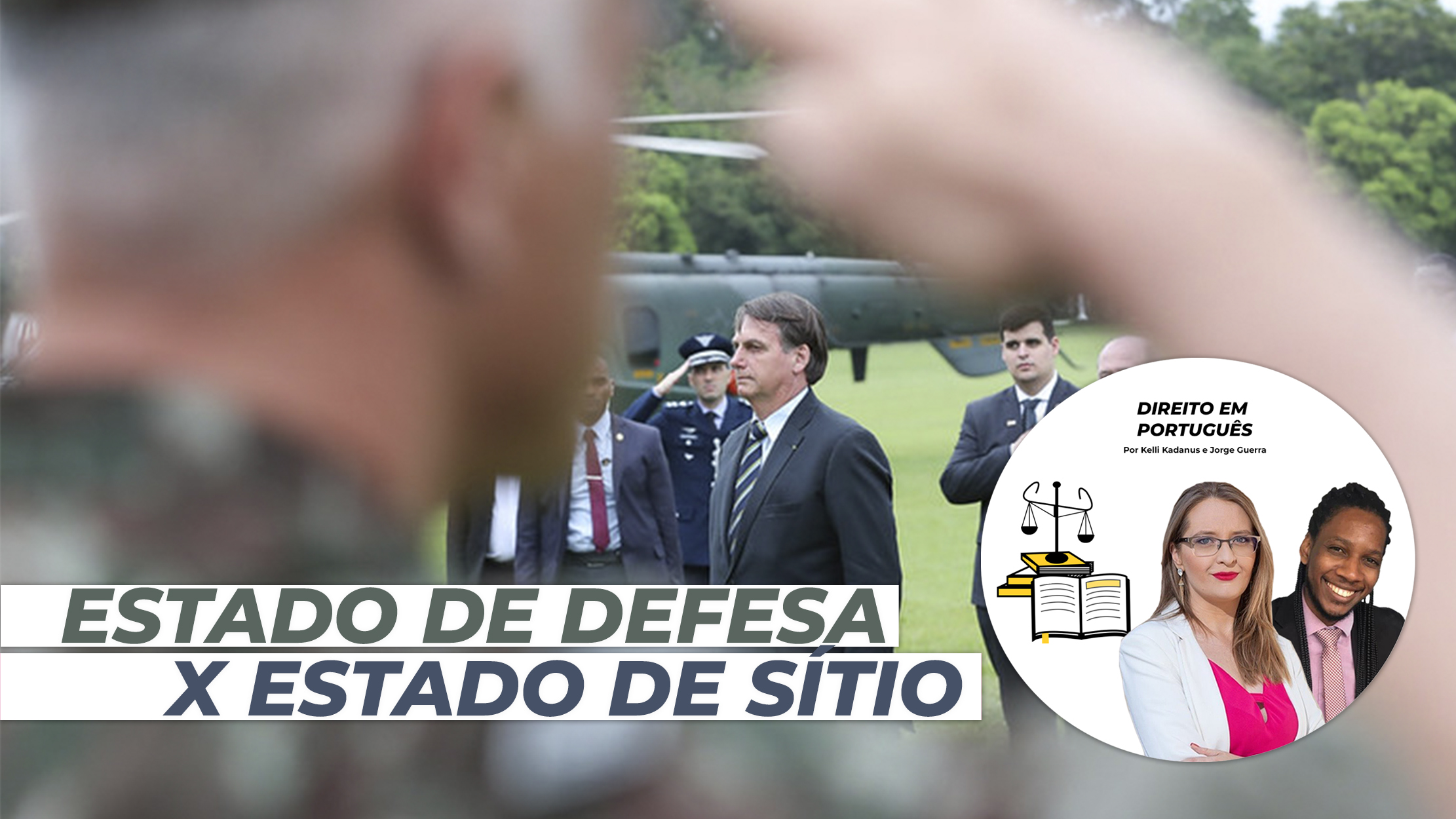 ESTADO DE DEFESA X ESTADO DE SÍTIO: O PAPEL DAS FORÇAS ARMADAS