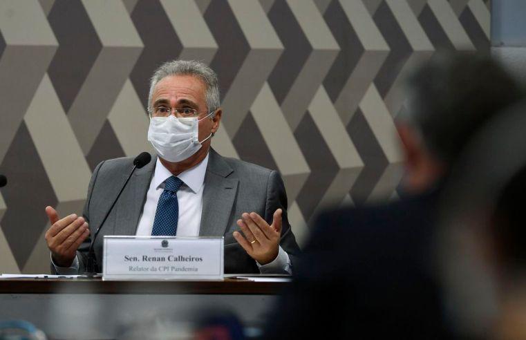 Renan Calheiros CPI pandemia