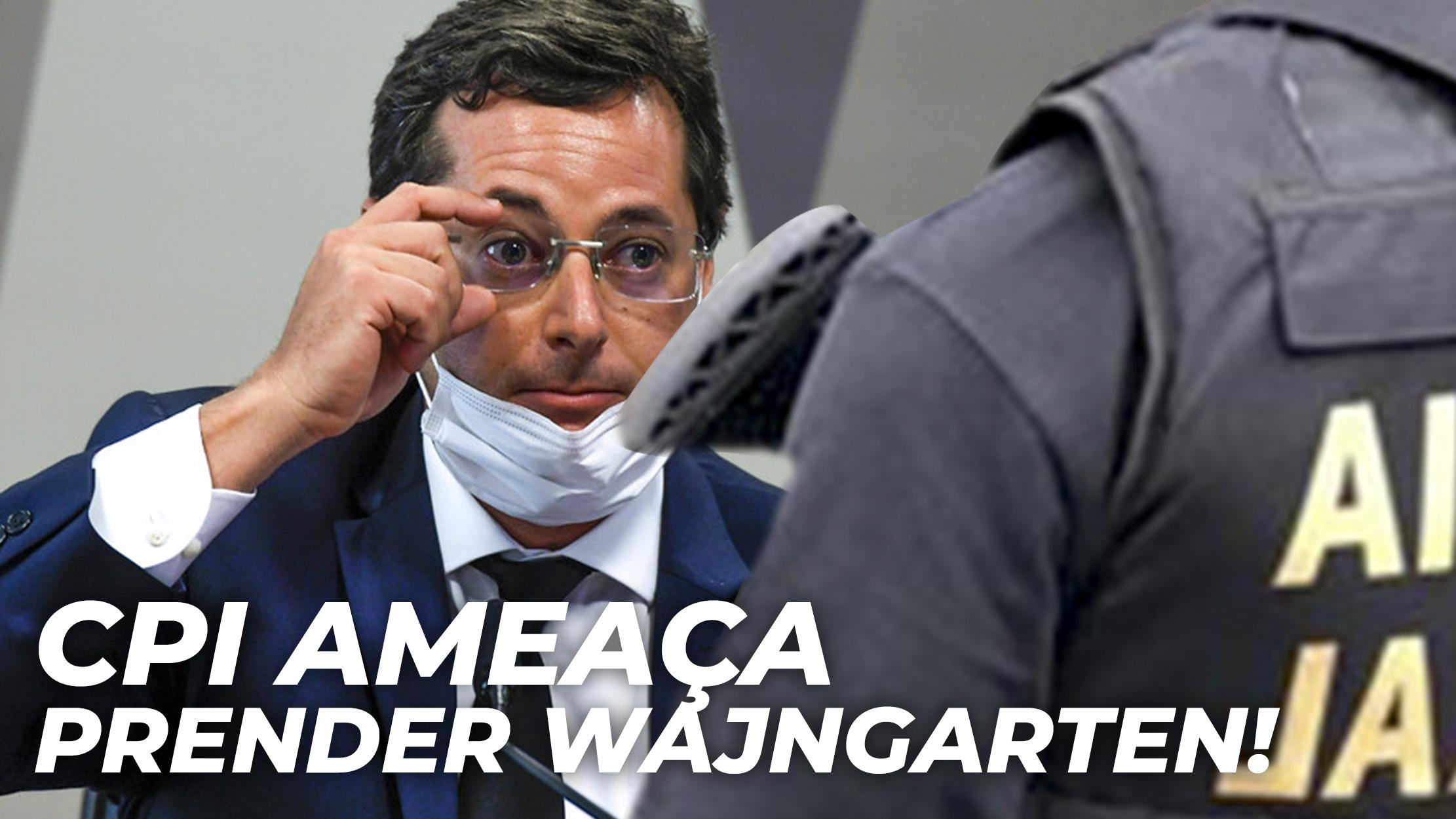URGENTE: SENADORES QUEREM PRENDER WAJNGARTEN NA CPI