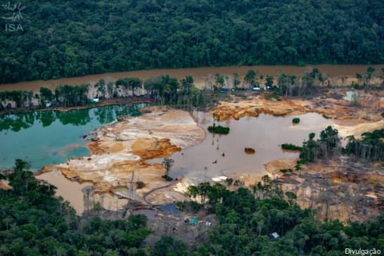 mineração garimpo ilegal
