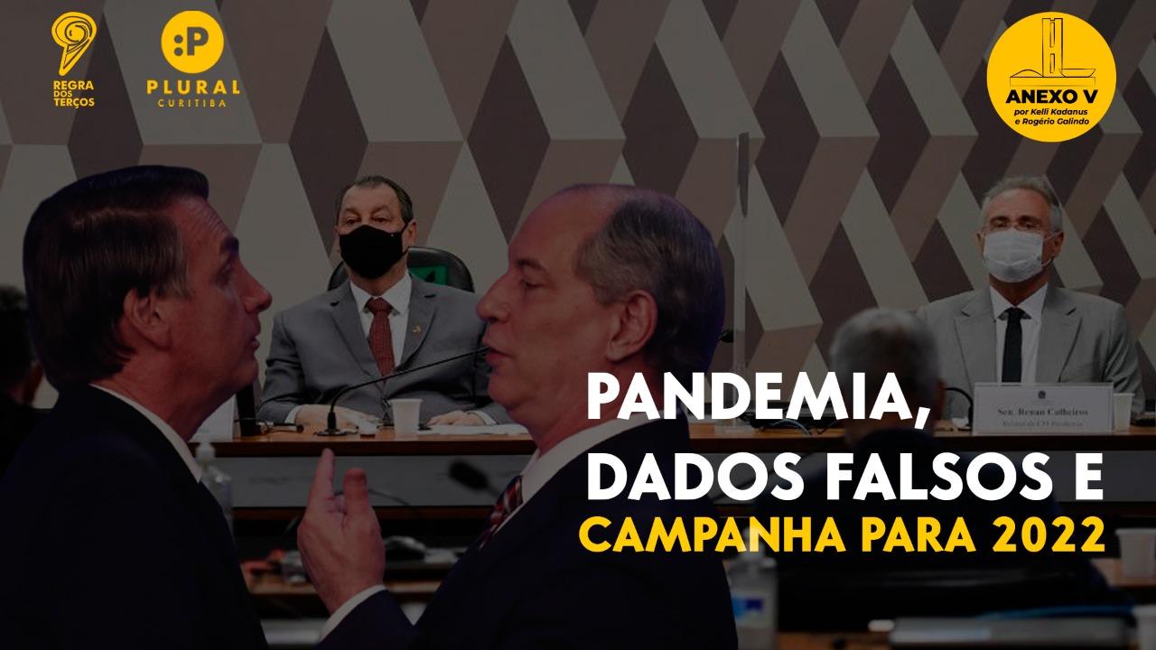 CPI DA PANDEMIA, A MENTIRA DE BOLSONARO E A CAMPANHA PARA 2022