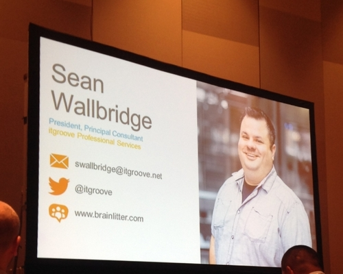 Sean Wallbridge at Nintex