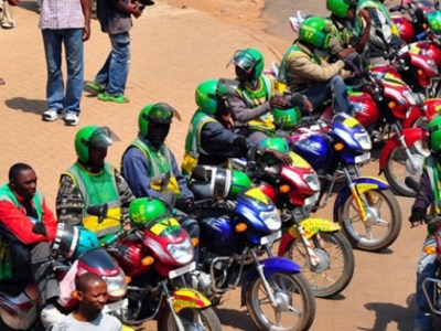 Rwanda Motorcyclist