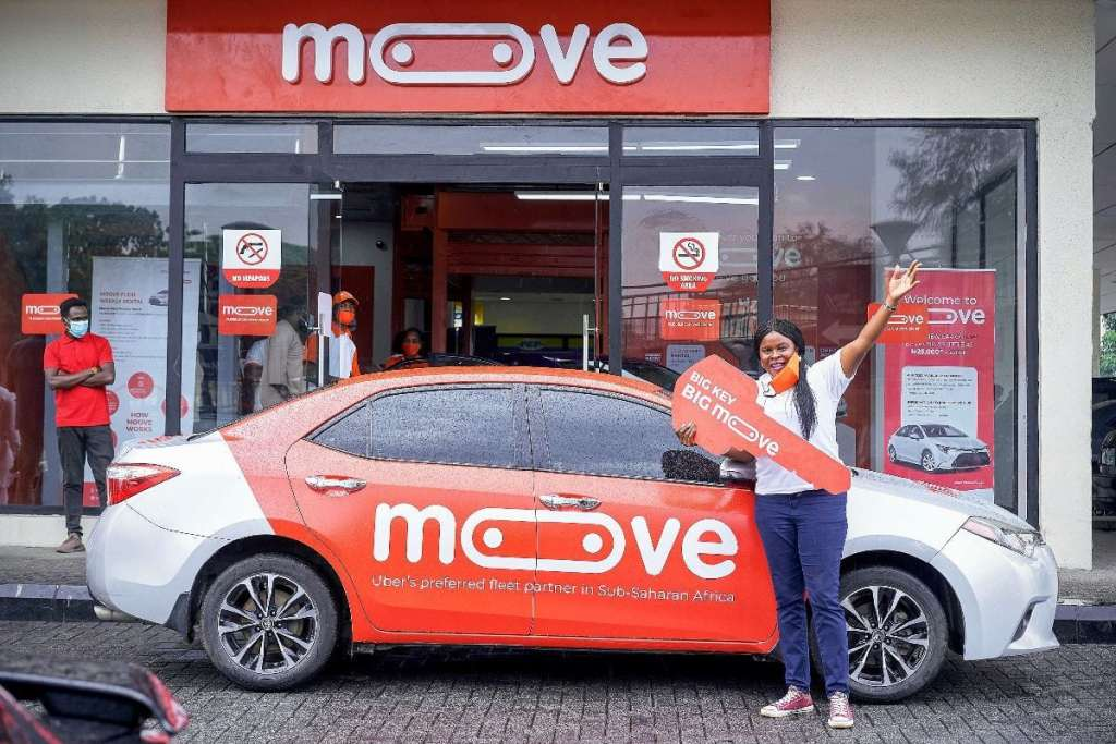 Nkechi Anyagwa first Moove driver