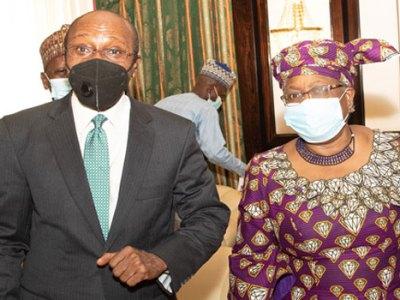 Okonjo Iweala and Godwin Emefiele
