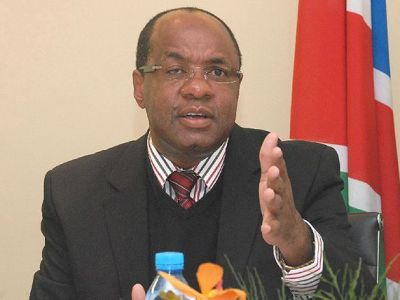 Governor Central bank of Namibia