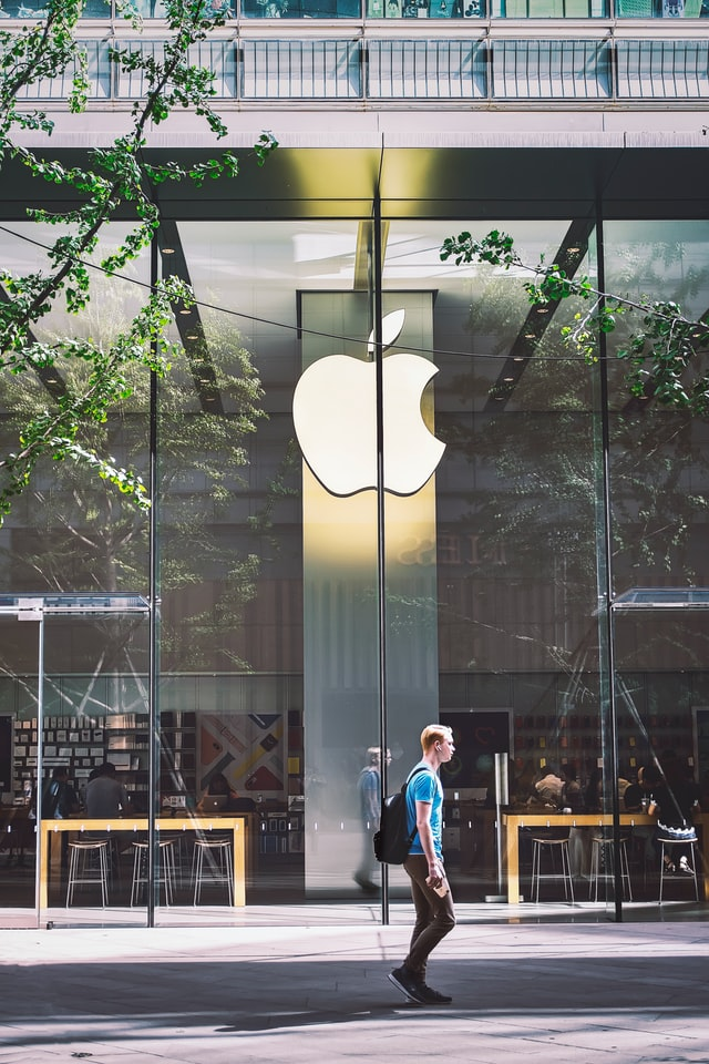 Apple Office As The Representation Of The Big Tech