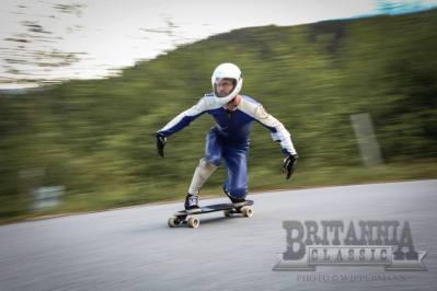 brendan grant at britannia classic