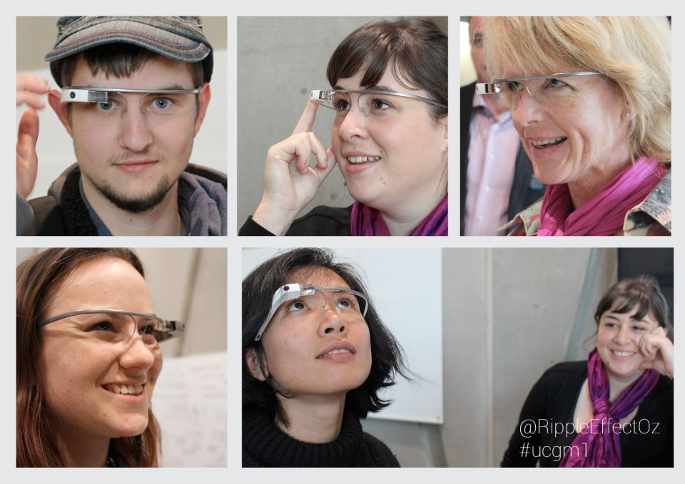+INSPIRE Centre Google Glass Meetup montage 1