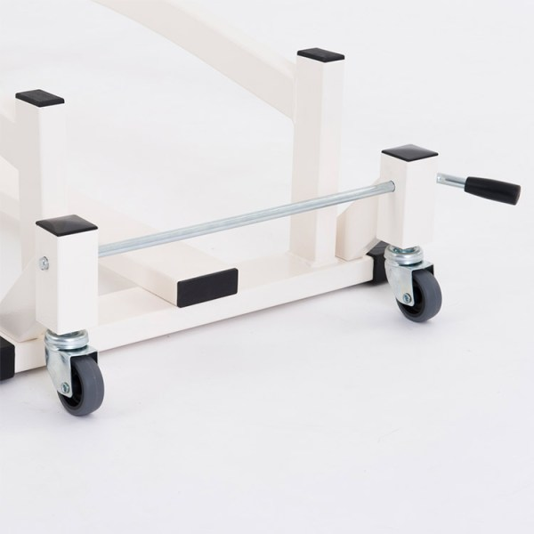 FISIOTECH Castors for Professional Series Couches – Positioning Mobility Castors for Examination Tables, Gurneys, and Couches (121010)