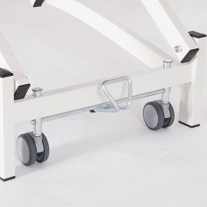FISIOTECH Castors for Simple Series Couches – Positioning Mobility Castors for Examination Tables, Gurneys, and Couches (122010)