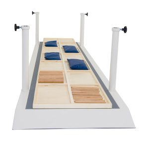 FISIOTECH Platform with Dividers for Outpatient Rehab Programs – Post Trauma Recovery/Prosthetic Examination (131250)