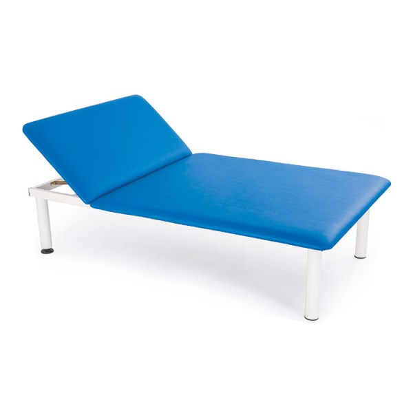 FISIOTECH Ade2 Couch – Section Fixed Height Couch w/ Under-bed Clearance for Post-Trauma Therapy, Rehab Therapy, Examination
