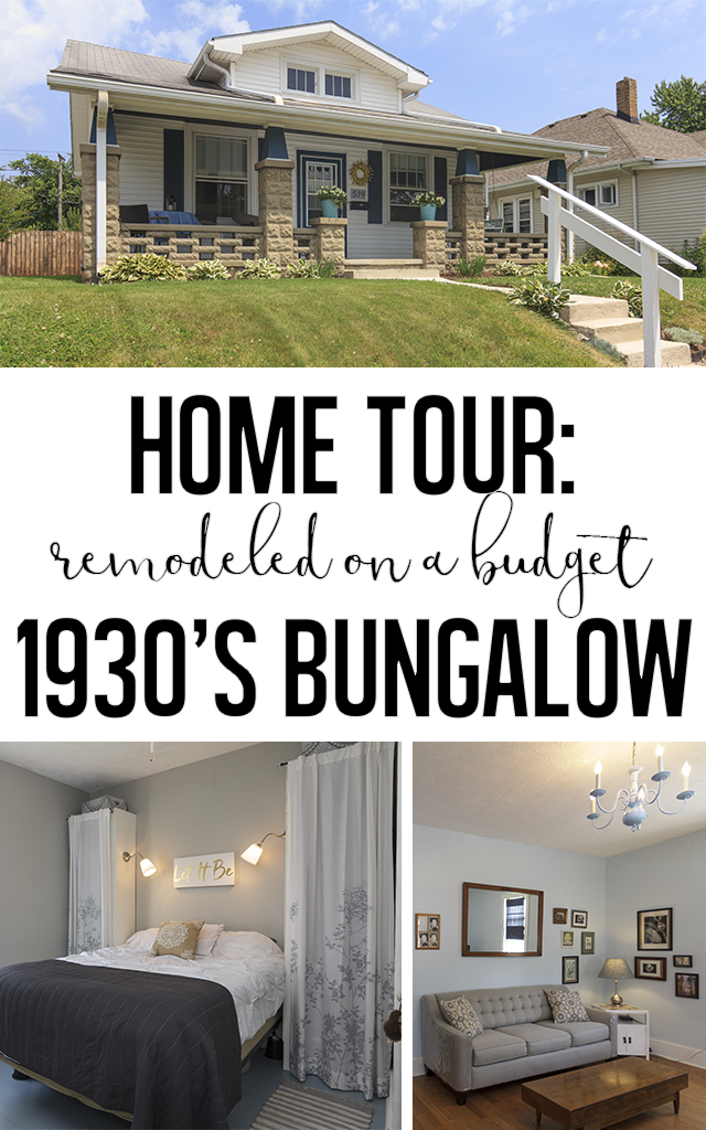 Remodeled on a budget, a 1930's bungalow cottage.