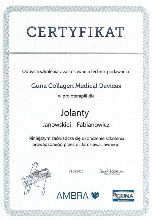 Guna collagen Medical Devices