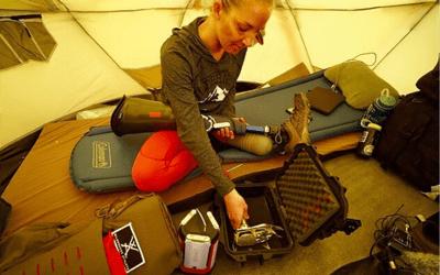 Kirstie Ennis: Στις Επτά Κορυφές με ένα πόδι