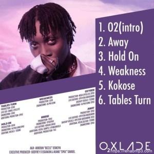 ALBUM: Oxlade – Oxygen EP