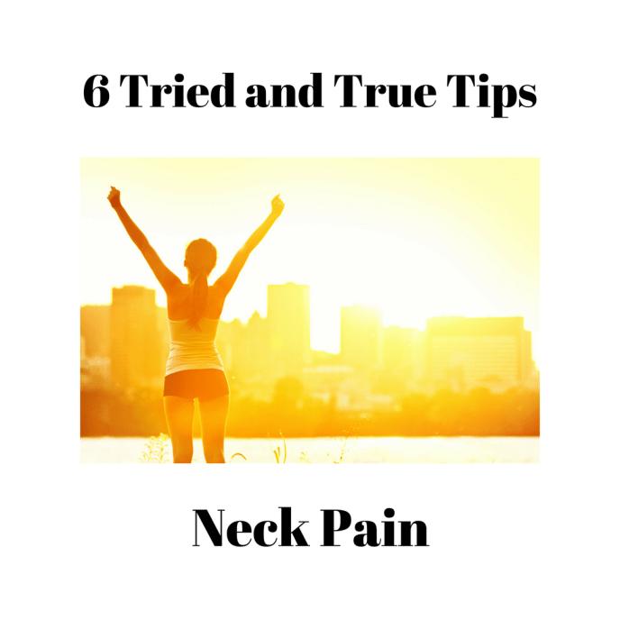 neck pain, sleep, nutrition, mindset, physical activity