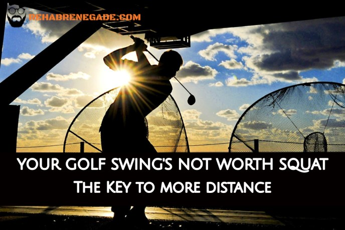 Golf Swing Squat Main Picture