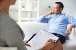 individual counseling man