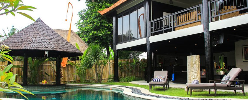 outdoor area at seasons bali